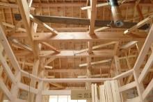 木材の骨組み構造