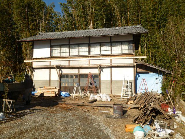 土蔵屋根工事1